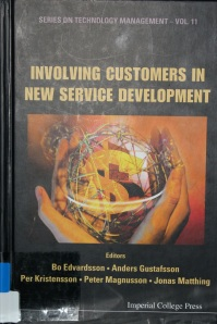 Involving Customers In New Service Development - Book Cover Picture
