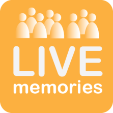 LiveMemories' logo