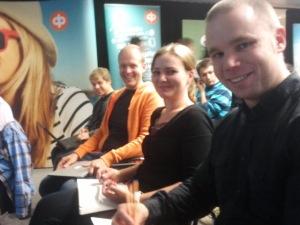 Jaakko, Minna, Antti, Lassi