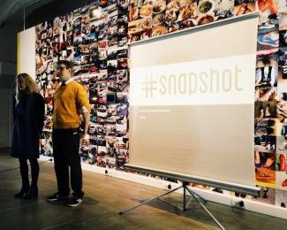 Anna-Kaisa and Risto presenting #snapshot.