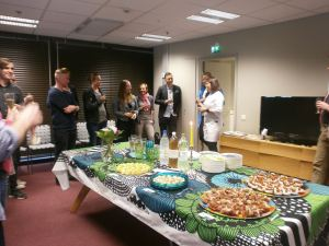 Service Design Drinks on the 2nd of June 2015