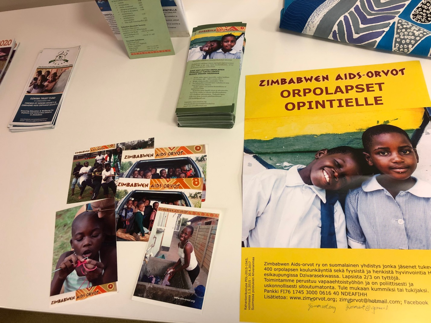 Developing a Non-Governmental Organization's operations in Zimbabwe through co-creation